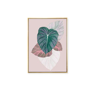 Summer Shade Framed Canvas Art