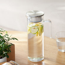 Clear Filter Drinking Jar