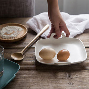 Flatlay Plate Serving Dish Series