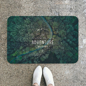 Adventure Begins Floor Mat