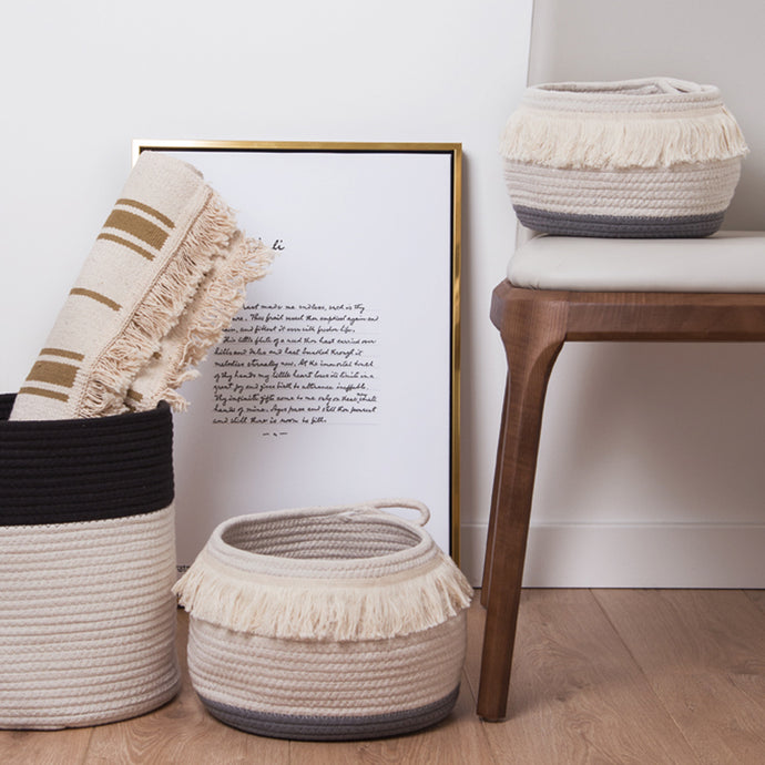 Taselly Storage Weaved Basket
