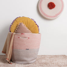 Madame Multicolor Weaved Basket