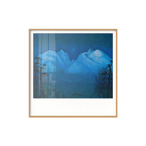 Places In Memory Framed Canvas Art Series