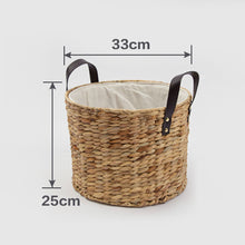Tatty Woven Rattan Basket