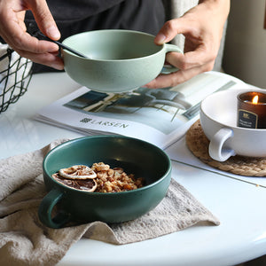 Breakfast Habbit Mug Bowl