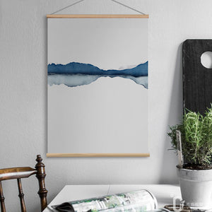 Stream Flow Hanging Wall Art