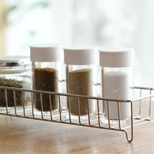 Clear Spices Bottle Set