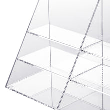 Clear Slot Pyramid Holder