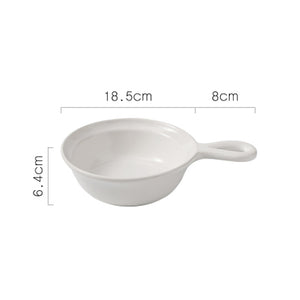 Round Grip Pan Bowl