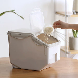 Sealed Rice Storage Container