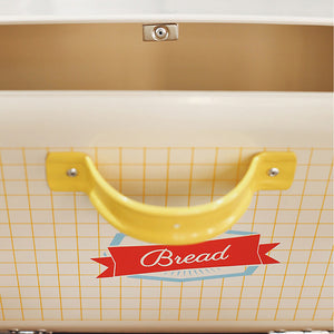 Old Classic Metal Bread Box