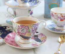 Pink Allure Teacup & Saucer Set