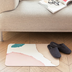Pastel Paint Floor Mat