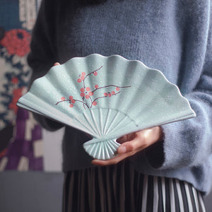 Imperial Fan Serving Dish