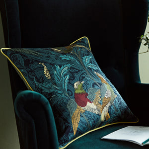 Birds of Paradise Cotton Cushion