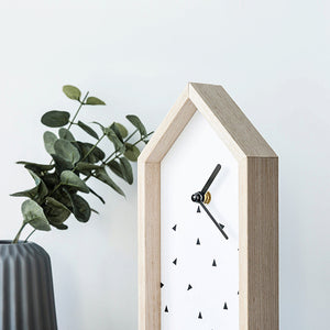 Sweet Home Clock Stand