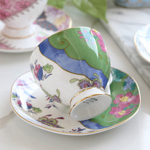 Butterfly Bloom Teacup & Saucer Set