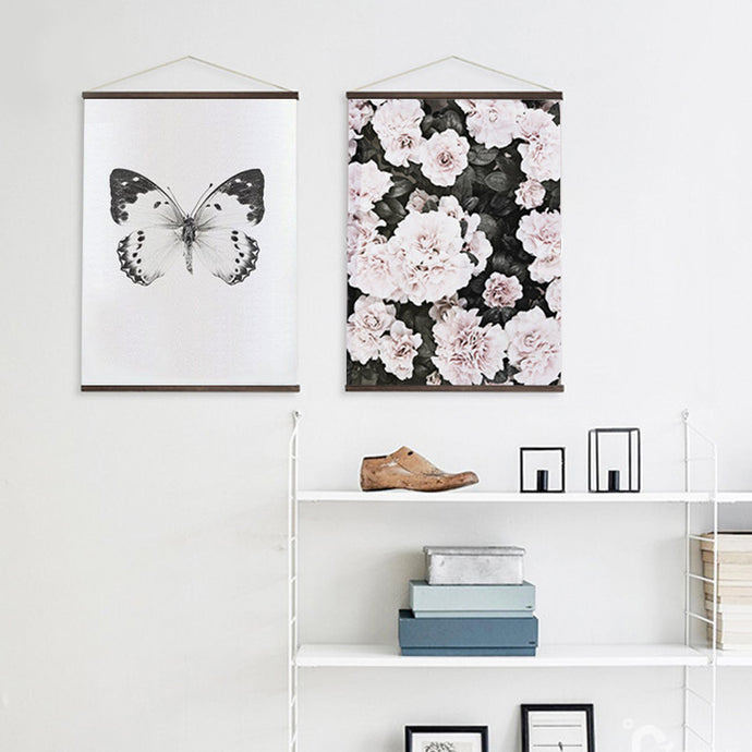 Pale Bloom Hanging Wall Art Series