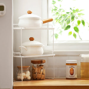 Corner Perfect Fit Storage Rack