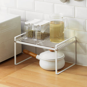 Double Storage Metal Rack