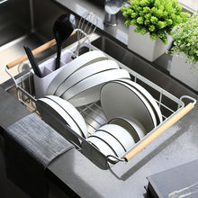 Handle Dishes Drying Tray