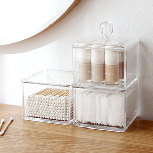 Clear Toiletries Stacking Box (IN)