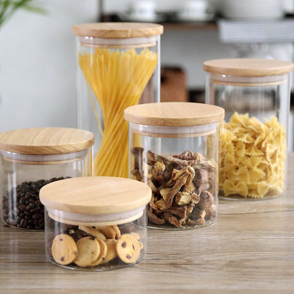 Clear Recipe Kitchen Container