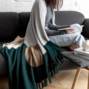 Scandi Abstract Nap Blanket