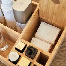 Wood Compartment Tray Holder
