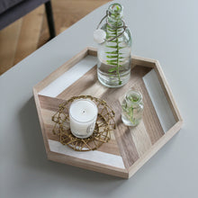 Honeycomb Wooden Tray