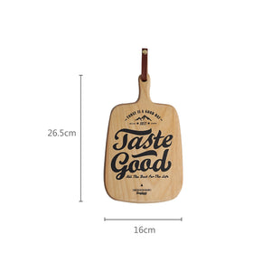 Taste Display Wooden Board