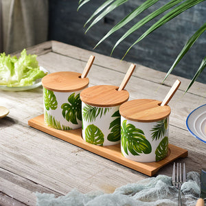 Tropical Kitchen Spices Organiser Set