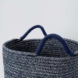 Todds Navy Weaved Basket