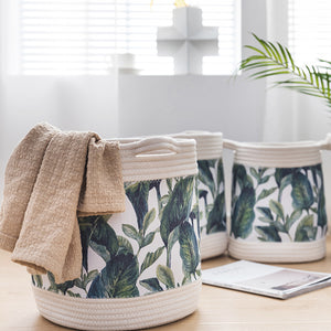 Tropical Home Storage Basket