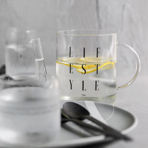 Lifestyle Glass Pot