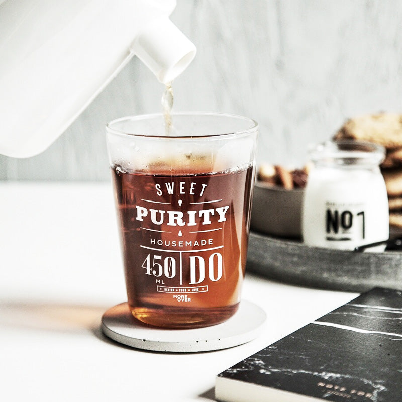 Sweet Purity Glass Tumbler