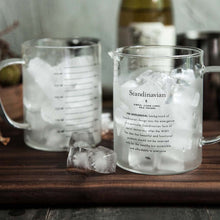 Artsy Measuring Glass Jug