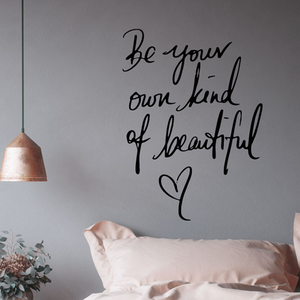 Be Your Beautiful Wall Sticker