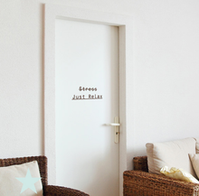 No Stress Just Relax Wall Sticker