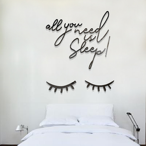 All You Need Is Sleep Wall Sticker
