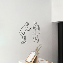 Couple Dance Wall Sticker