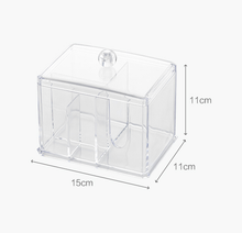 Clear Multifunctional Cotton Box