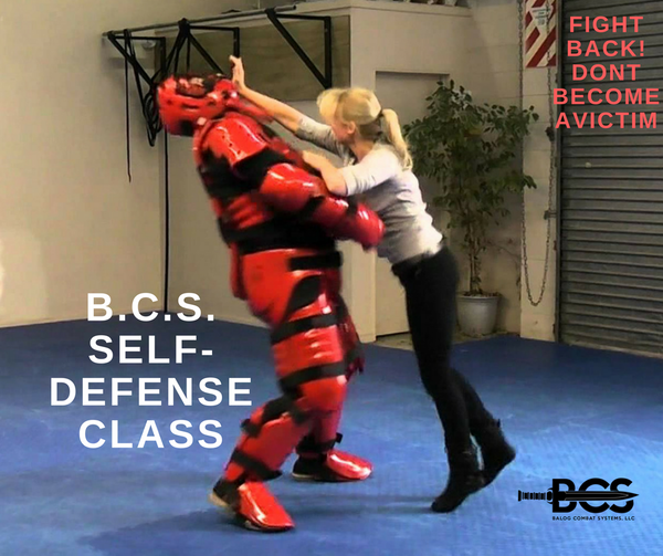 Adult (16 +) Self Defense Course using REAL model developed by B.C.S. (Certificate upon Graduation) - Balog Combat Systems (BCSTACTICAL),