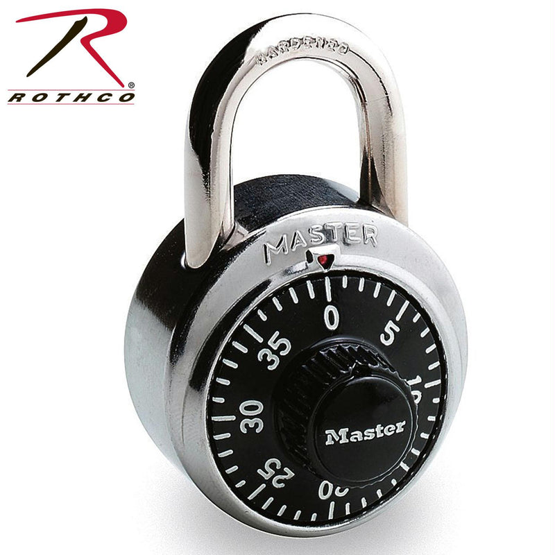 MasterLock Combination Lock - Balog Combat Systems (BCSTACTICAL), Accessories