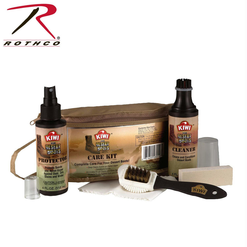 Kiwi Desert Boot Care Kit - Balog Combat Systems (BCSTACTICAL), Shoe Care