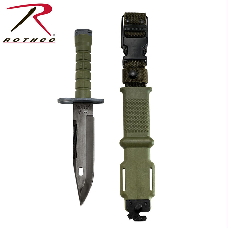 Genuine G.I. M-9 Bayonet - Balog Combat Systems (BCSTACTICAL), Military Knives