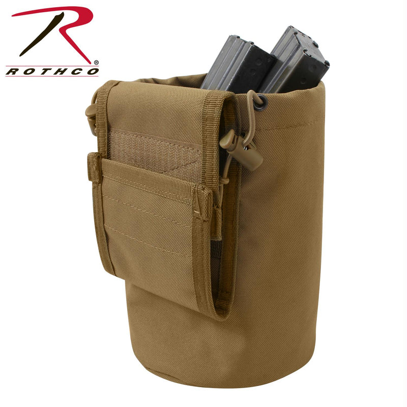 Rothco MOLLE Roll-Up Utility Dump Pouch - Balog Combat Systems (BCSTACTICAL), Multicam