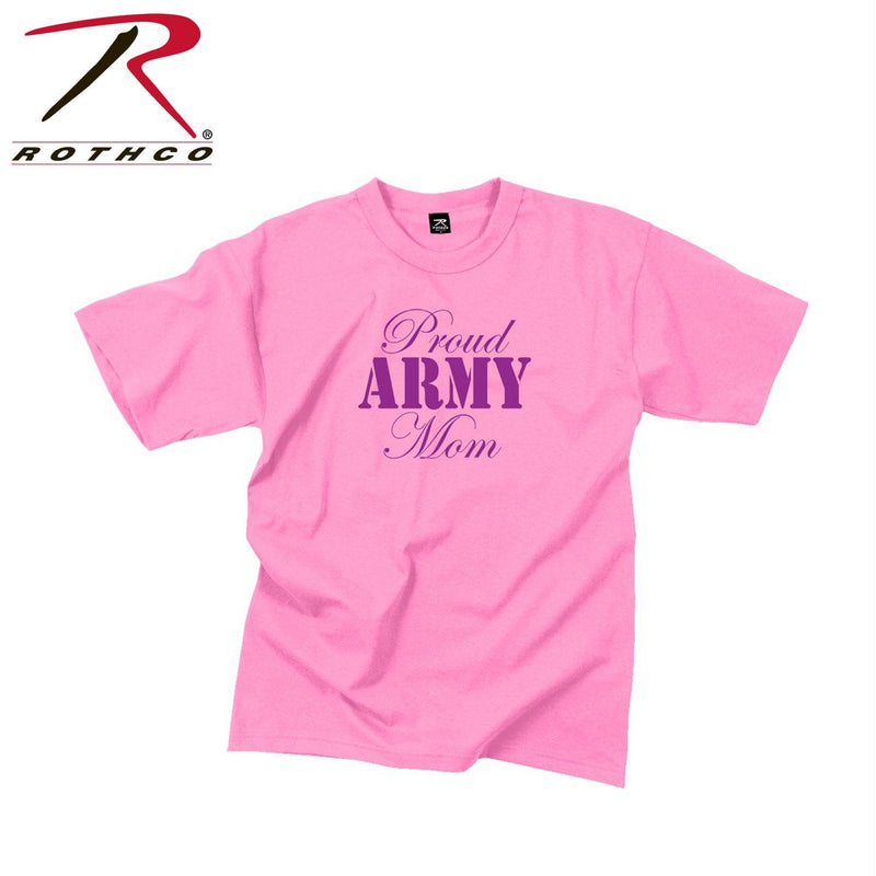 Rothco Proud Army Mom T-Shirt - Balog Combat Systems (BCSTACTICAL), Women's T-shirts