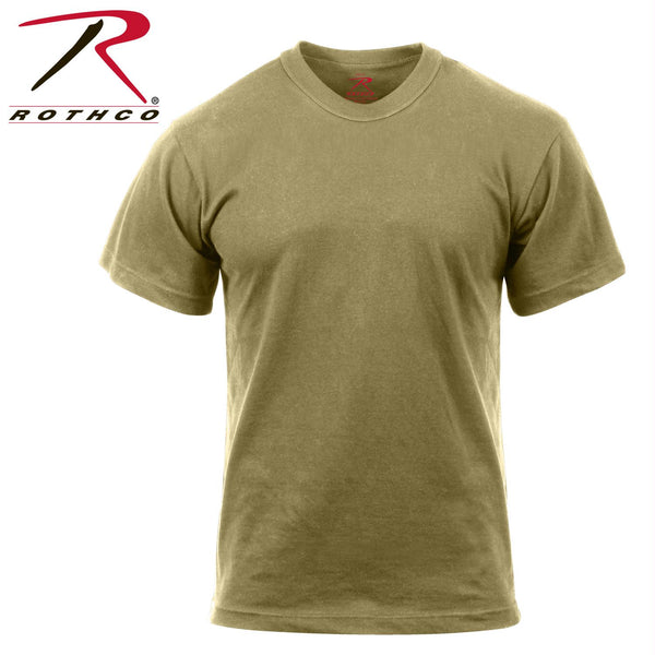 Rothco AR 670-1 Coyote T-Shirt - Balog Combat Systems (BCSTACTICAL), Solid Color Military T-shirts