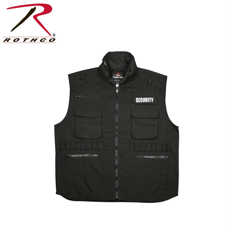 Rothco Security Ranger Vest - Balog Combat Systems (BCSTACTICAL), Safety Vest